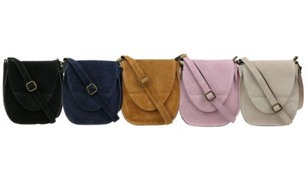Oval Flap Shoulder Bag in Choice of Colour