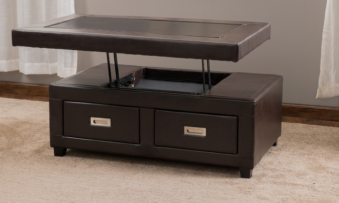 Convertible Storage Ottoman Groupon Goods