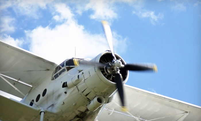 Grey Eagle Aviation - Faraday Spectrum: $125 Worth of Flight Services