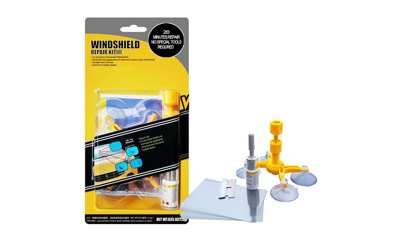 One, Two or Three Windscreen Repair Kits