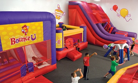 Bounce Passes or Premier Party at BounceU of Allentown and Easton (Up to 50% Off). Six Options Available.