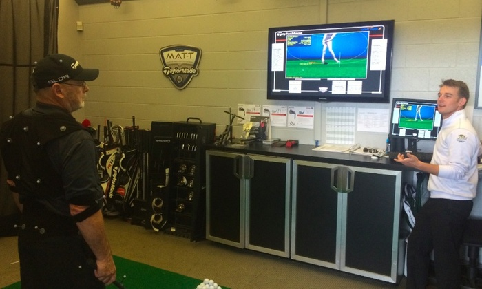 Taylormade Performance Lab - Taylormade Performance Lab: Up to 71% Off Private Golf Lessons at Taylormade Performance Lab