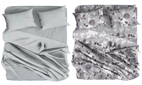 Completo lenzuola Elvira disponibile in 3 dimensioni e varie fantasie