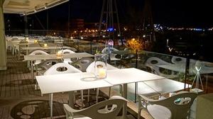 Ristorante la Prua: Menu di pesce gourmet di 6 portate e vino per 2 o 4 persone a Rimini vista mare da Ristorante La Prua(sconto fino a 64%)