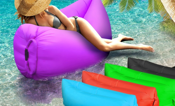 Inflatable Air Lounge - One ($49) or Two ($79)
