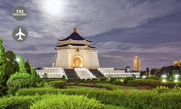 Taiwan: Tour + Return Flights 0