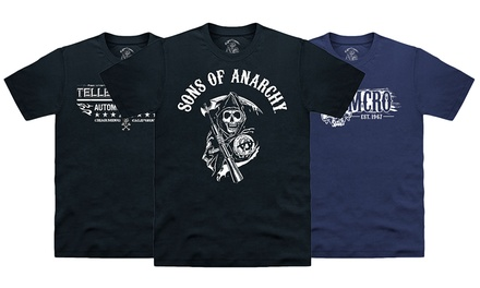 Men's Sons of Anarchy TShirts for £11.99