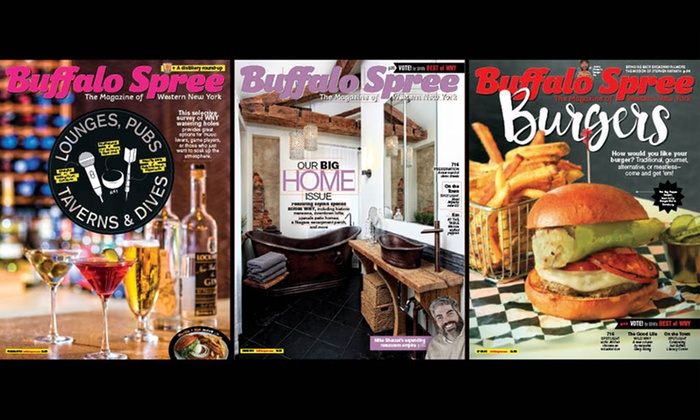 """Buffalo Spree: One- or Two-Year """"Buffalo Spree"""" Magazine Subscription (Up to 42% Off)"""