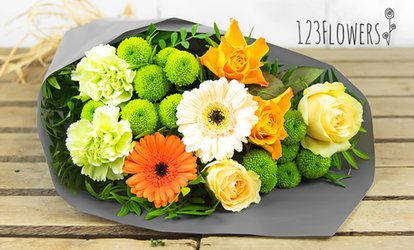 50% Off Fresh Flowers Delivery from 123 Flowers