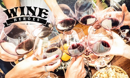 Wine Heroes Festival GA Ticket $29 or VIP Upgrade $89 at The Cutaway Barangaroo Up to $145 Value