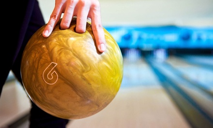 Two Games of Bowling with Shoe Rentals for  Two or Four at Strike 10 Lanes (Up to 55% Off)