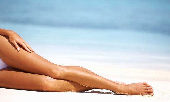 Shore Rejuvenation Day Spa LLC - Gillespie Park: Full-Leg Wax from Shore Rejuvenation Day Spa LLC (60% Off)