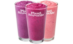 Planet Smoothie: $12 for Two $10 Vouchers Towards Smoothies at Planet Smoothie ($20 Value)