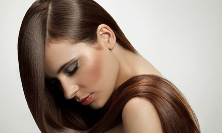 Brazilian Keratin Hair Treatment Plus Optional Wash, Cut, Blow Dry and Foot Spa Treatment at Senses Salon