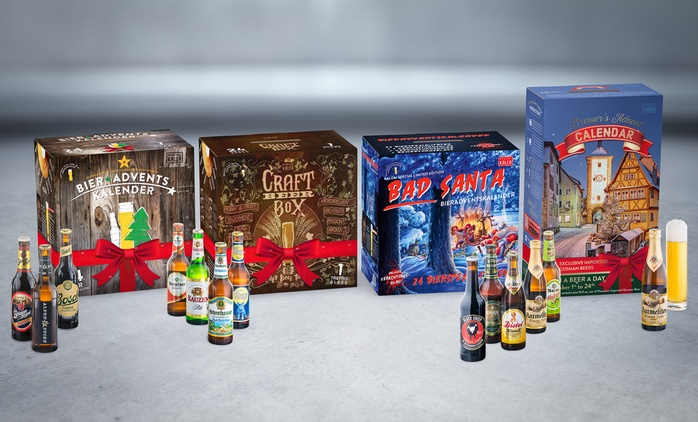 Beer Advent Calendar in Different Designs with 24 Beers from €59.99 With Free Delivery