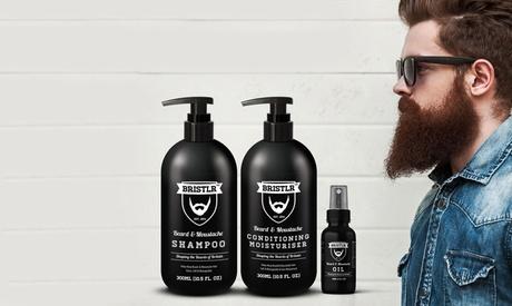 1, 2 o 3 kits de cuidado de la barba Bristlr