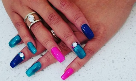 Manicure or Pedicure at Allura Beauty School (Up to 38% Off). Four Options Available.