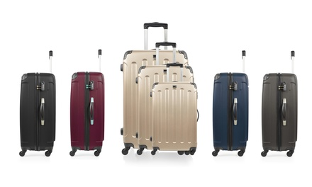 b271da81e7ca23 Set 3 valises et vanity case en ABS, modèle Madrid C   Deals et ...