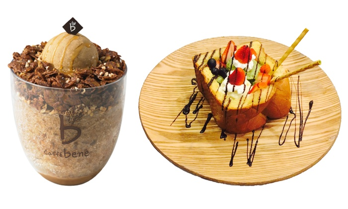 Caffe Bene- Glenview - Caffe Bene- Glenview: $8 for $9.95 Worth of Coffee, Waffles, and Gelato at Caffe Bene – Glenview