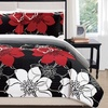 Woodhaven Large-Scale Abstract Floral Print Quilt Set (2- or 3-Piece)