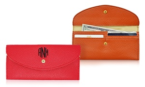 Monogrammed Custom Wallets (Up to 71% Off) at KraftyChix, plus 6.0% Cash Back from Ebates.