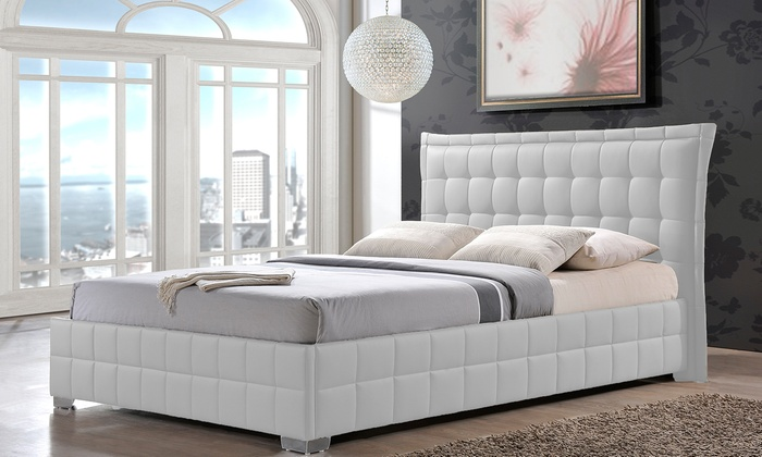 monaco modern bed frame monaco modern bed frame in queen or king size from 49999 - Modern Bed Frame