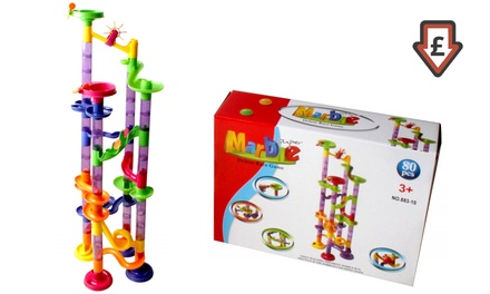 80-Piece Super Marble Run