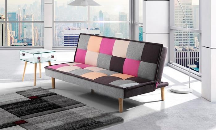Divano letto a meccanismo clic clac groupon goods for Meccanismo per divano letto