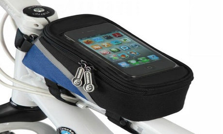 Bike Mobile Phone and Accessories Storage Bag with Transparent Cover