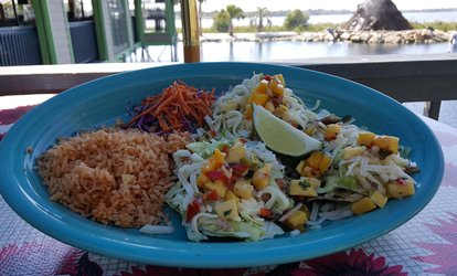 image for $13 for $20 Worth of Mexonesian Cuisine for Lunch at Hula Hut Little Elm