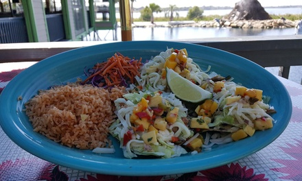 Mexonesian Cuisine for Two or Four People or More at Hula Hut Little Elm (Up to 30% Off). Two Options Available.