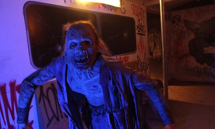 Haunted Attraction Visit for Two or Four at Kersey Valley Spookywoods (Up to 40% Off)