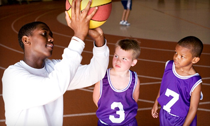 Starting 5ive Basketball - Ridgedale Middle School: Five-Day Basketball Camp for One or Two Kids at Starting 5ive Basketball (Up to 55% Off)