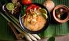 Thailändisches 3-Gänge-Menü