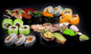 Sushi City: All-You-Can-Eat Sushi for One or Two at Sushi City, Choice of Location