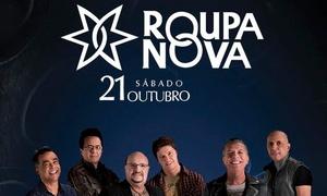 GP Produções: Show de Roupa Nova – Red Eventos: 1 ou 2 ingressos para dia 21 de outubro