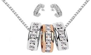 Set de bijoux 18K VC de cristaux Swarovski®
