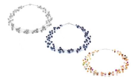 Collier perles The Gemseller orné de perles de culture à 14,90€(81% de réduction)