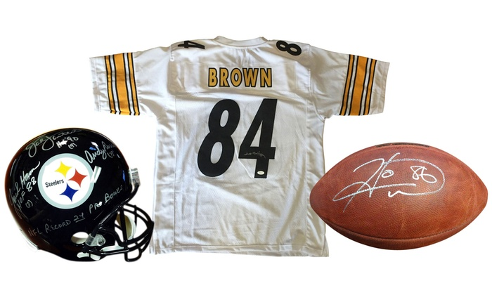 NFL Pittsburgh Steelers Autographed Memorabilia With Certificate ...