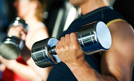 One- or Three-Month Gym Membership at Pompano Fitness (Up to 64% Off)