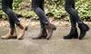 Groupon Goods Global GmbH: Wasserabweisende Redfoot Chelsea Damen-Boots aus Leder in der Farbe nach Wahl