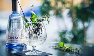 Bellini Lounge: 90 Min. Gin-Tasting inkl. Fingerfood für 1, 2 oder 4 Personen in der Bellini Lounge (bis zu 58% sparen*)