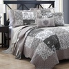 Chantilli 5-Piece King or Queen Quilt Set