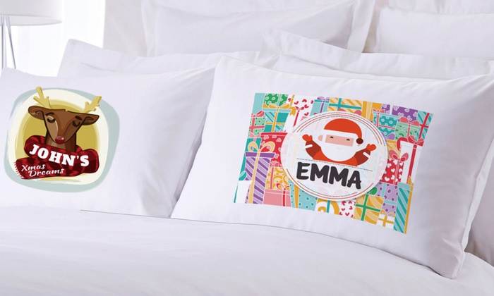 Monogram Online: One or Two Personalized Teen or Kids Pillow Cases from Monogram Online (Up to 83% Off)