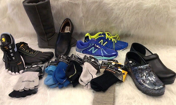 Shoe Prints - Roseville: $21 for $40 Worth of Shoes, Socks, and Accessories at Shoe Prints