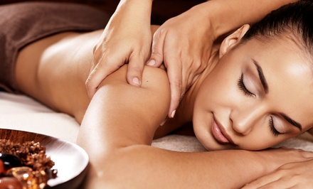 One or Three 80-Minute Swedish or Deep-Tissue Massages at Elements Massage (Up to 52% Off)