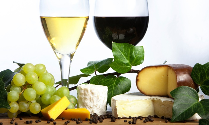 Santorini Wine & Beer Garden - Madronia Historic: $26 for Saratoga Wine Tasting for Two at Santorini Wine & Beer Garden ($50 Value)