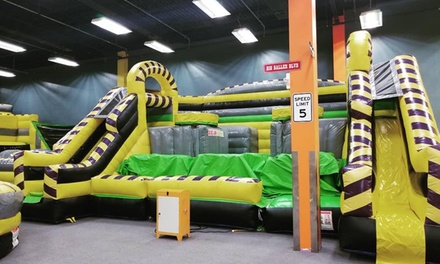Admission to Jump Start Indoor Playground for Two Kids (Up to 50% Off). Four Options.
