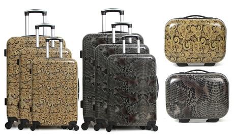 Set de 3 maletas y/o maletín de viaje Infinitif