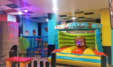 Entrada de hasta 3 horas al parque de bolas para hasta 4 niños en El Glotón Gastro Park (hasta 66% de descuento)